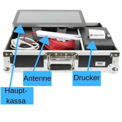 ELO Touchscreen Kasse mit Epson Drucker