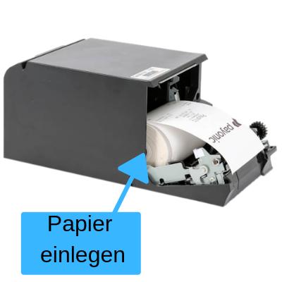 Epson Drucker Papier einlegen