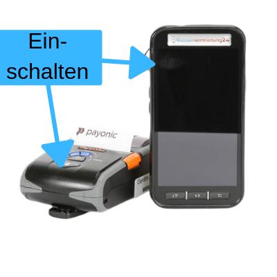 Smartphone Registrierkasse mit Rechnungsdrucker